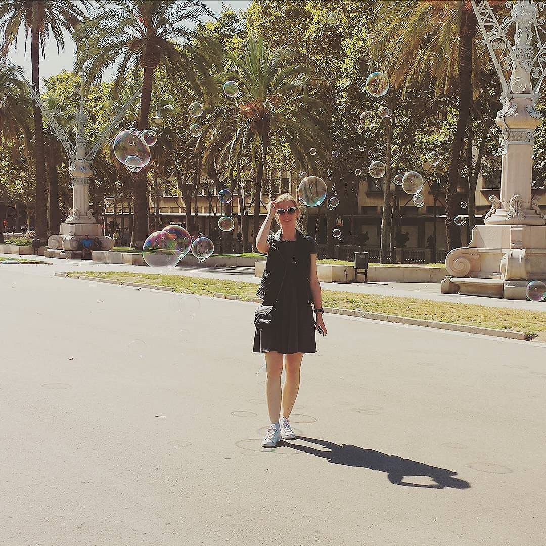 Allée de l arc de Triomf #barcelona
