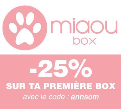 code promo miaoubox