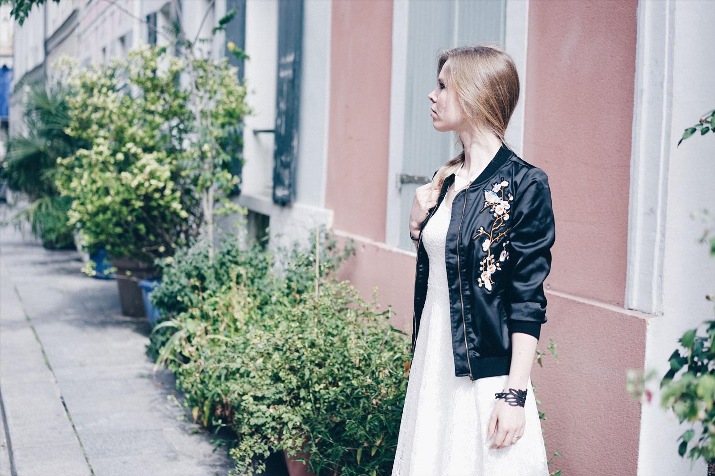 robe blanche alie street