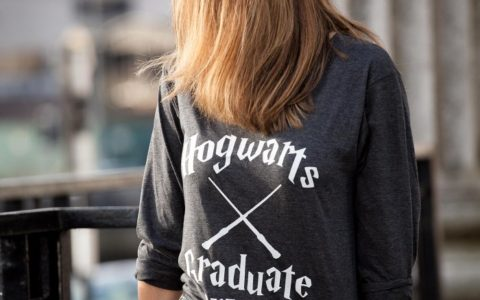Tshirt hogwards fashion