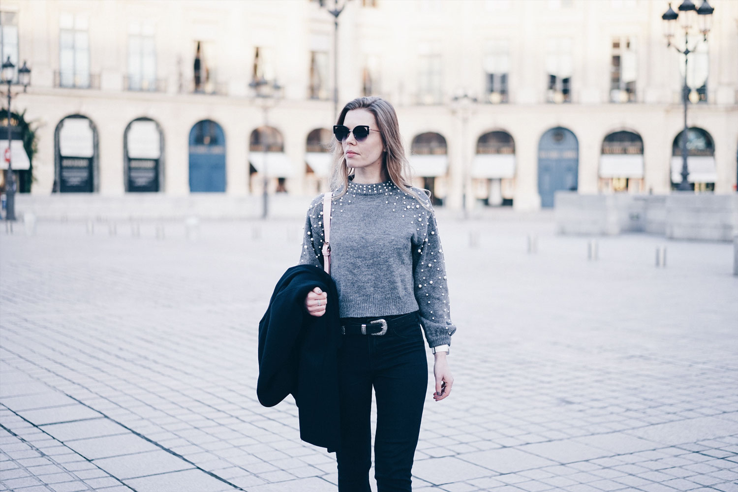 pull perles blogueuse